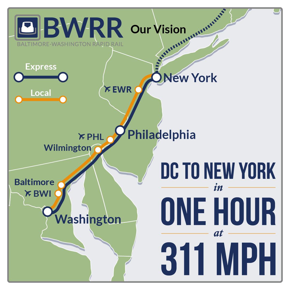 Baltimore To New York Train