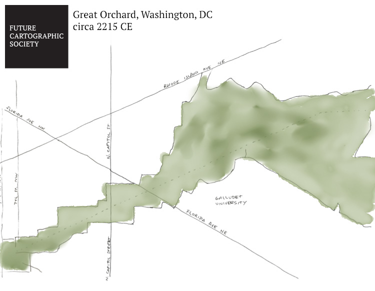 Washington Map Society.What Will Washington Look Like 200 Years From Now Mapping The D C