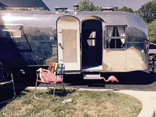 Spend The Night In The '50s, In A Vintage Airstream Trailer | WAMU