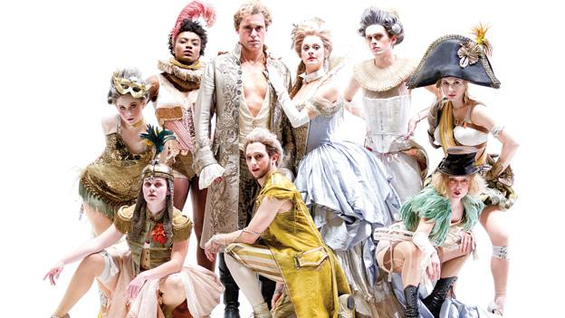 The cast of the Shakespeare Theatre Company's A Midsummer Night's Dream, directed by Ethan McSweeny.