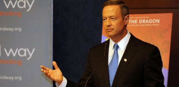 Gov. Martin O'Malley is trying to raise his national profile in advance of the 2016 election.