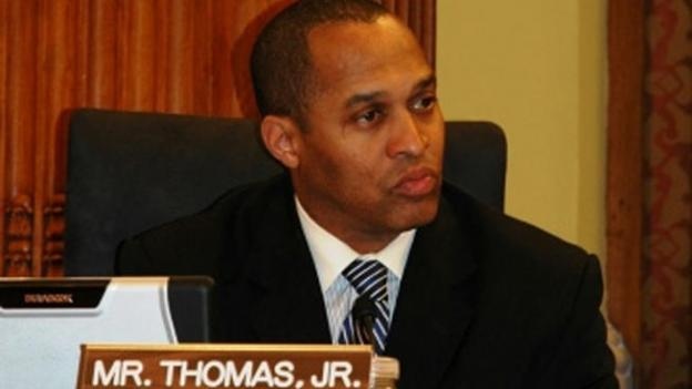 D.C. city council member Harry Thomas Jr. has been charged with stealing more than $350,000 in government funds and filing false tax returns.