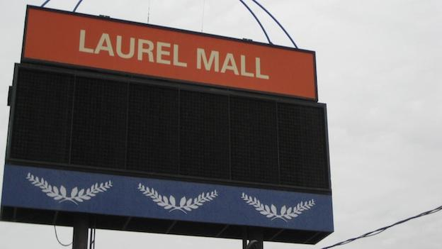 The soon-to-be-demolished Laurel Mall opened to great fanfare in 1979.