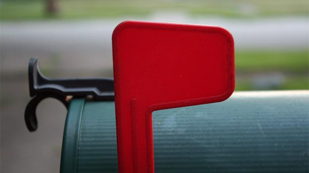 Thieves in Montgomery County target outgoing checks by looking for mailboxes with raised flags.