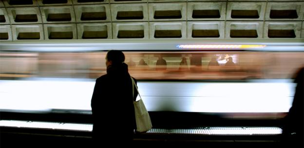 The D.C. Metro area ranks third in the nation in the percentage of commuters who take mass transit.
