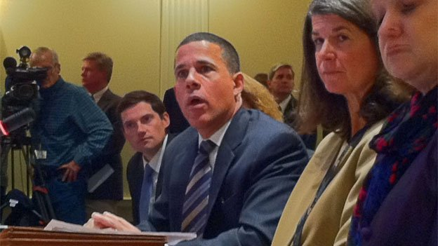 Lt. Gov. Anthony Brown testified before a Maryland House Committee.