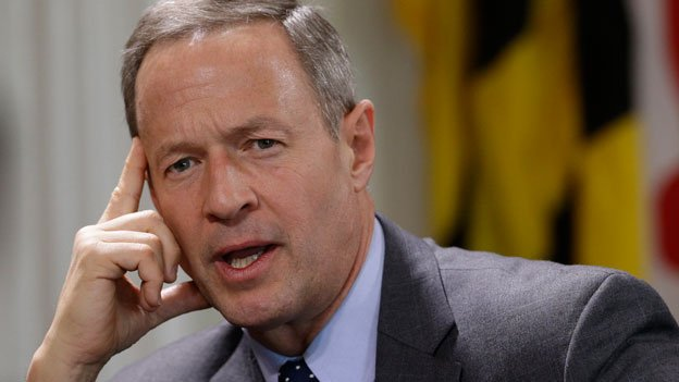 Maryland Gov. Martin O'Malley speaks during a roundtable interview in Annapolis, Md., Wednesday, Jan. 8, 2014, the first day of the 2014 legislative session.