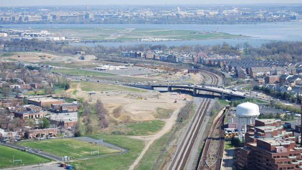 Alexandria officials hope to build a Metro station at Potomac Yard.