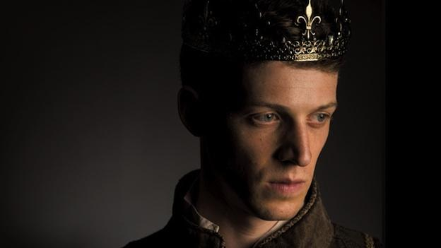 Zach Appelman stars as the young king in Folger Theatre's production of Shakespeare's Henry V.