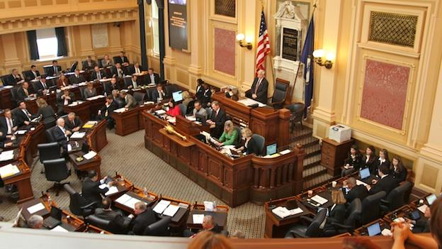 Republican Speaker Bill Howell presides over the House of Delegates in Richmond.