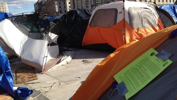 The National Park Service has ordered Occupy DC protesters to stop camping at the parks by Monday, or risk arrest.