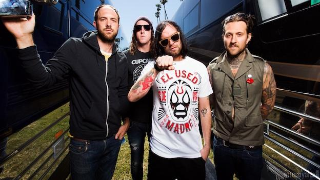 The Used is headlining this year's Take Action Tour, an annual series that benefits charitable organizations. This year's cause is the It Gets Better Project.