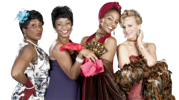 Ladies Swing the Blues brings together the singing styles of jazz legends like Ella Fitzgerald, Sarah Vaughan, Peggy Lee and Billie Holiday.