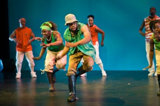The D.C.-based dance company Step Afrika kicks off a busy month with performances this weekend at Sidney Harman Hall.