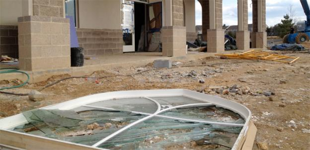 Vandals did more than $60,000 in damage to the Ahmadiyya Muslim Community mosque in Chantilly, Va.