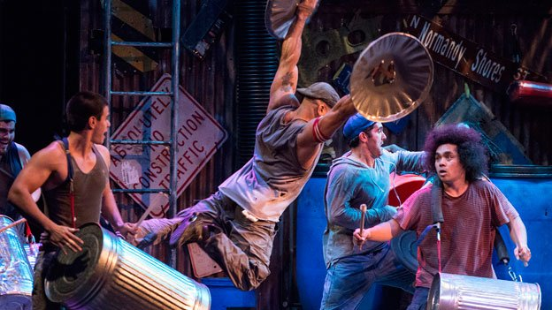 The touring company of STOMP comes to D.C. this week.