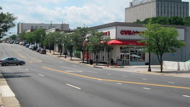 Columbia Pike in Arlington would look quite a bit different with a streetcar line running its length.