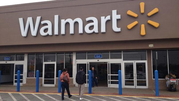 By the end of the month, Walmart shoppers will be restricted to using shopping carts in the parking lot.
