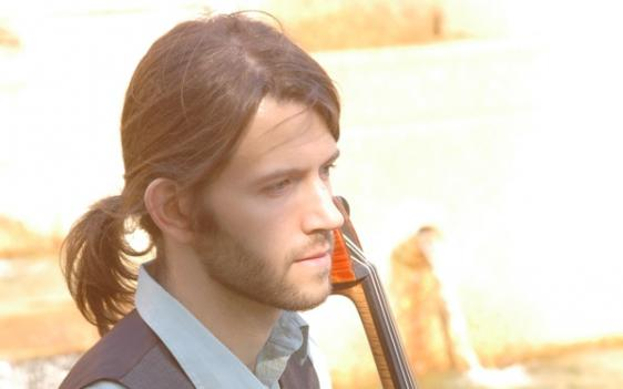 Electric cellist Wytold will perform two solo concerts at Strathmore this month.