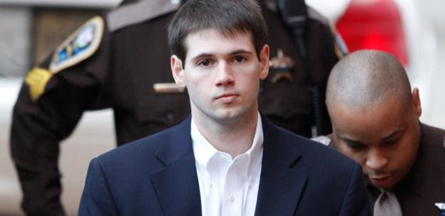 Huguely was found guilty in February of 2012 of murdering fellow University of Virginia senior Yeardley Love.
