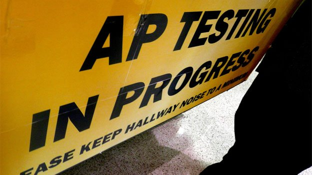 Students can get college credits for passing scores on the Advanced Placement exams.