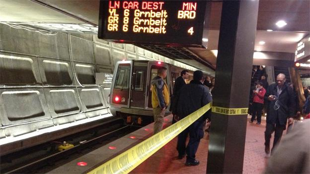 It's becoming more common to see crimes on the Metro, especially robberies.