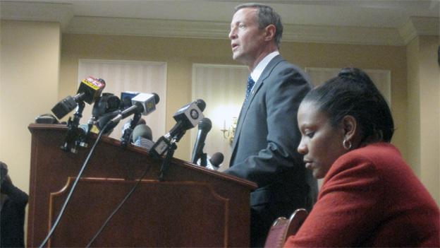 Gov. Martin O'Malley testified Thursday in favor of repealing the death penalty.