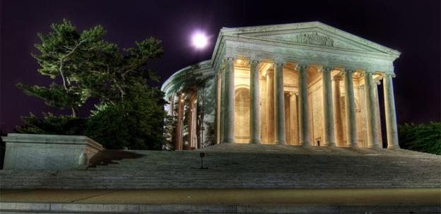 The Jefferson Memorial was the scene of a grisly crime nearly two decades ago.