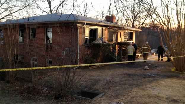 Almost 80 firefighters responded to a burning home early Thursday, but they do nothing for a man and two children, who died on the scene.
