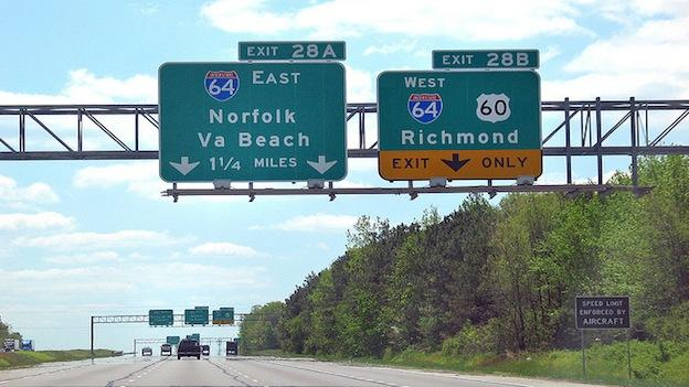 Virginia highway reform bill passed the House, and now heads to the Senate.