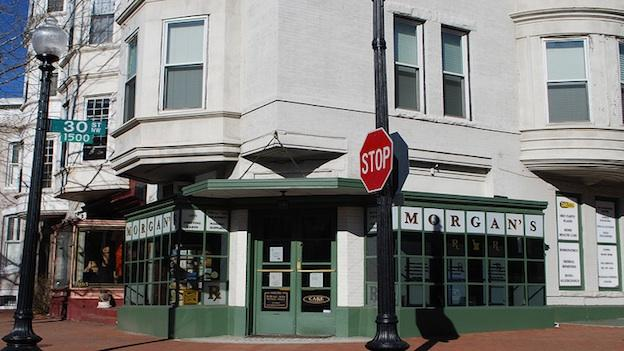 Present-day Morgan's Pharmacy. 2012 is the drug store's 100th anniversary.