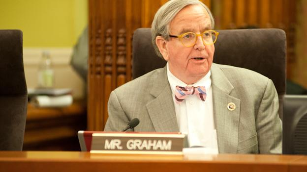 D.C. Council member Jim Graham maintains that he didn't break the law and is pushing back against sanctions.