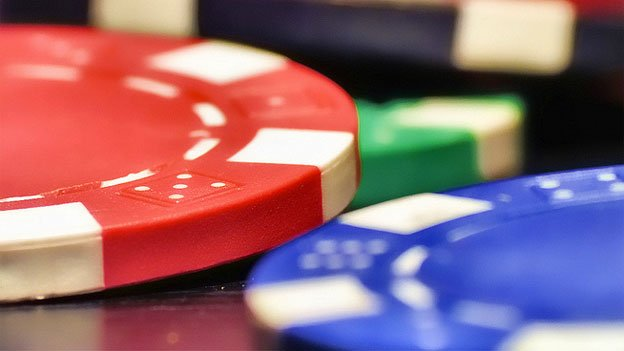 Beware floating poker chips, would-be criminals.