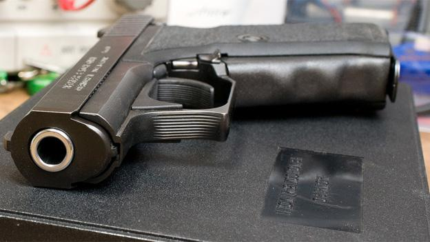 Under Maryland's new gun control law, a number of assault weapons would be banned and fingerprints would be required from those purchasing handguns.