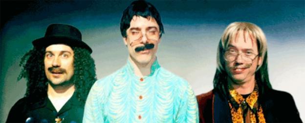Three eccentric mystics bring sleight of hand to Arena Stage in Washington.