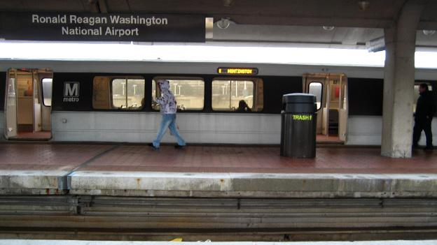 Those heading into or out of Reagan National Airport can't rely on the Metro this weekend.