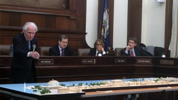 Planning Commissioner Stewart Dunn moves for approval of the Alexandria waterfront plan.