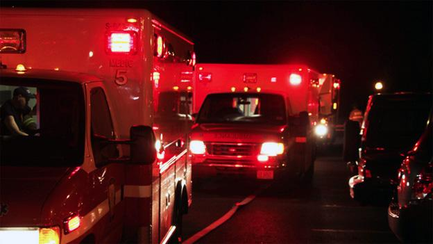 A dispatcher had to pull an emergency response unit from neighboring Prince George's County.