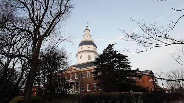 The Maryland State House is seen on the opening day of the 2012 legislative session in Annapolis, Md., Wednesday, Jan. 11, 2012.