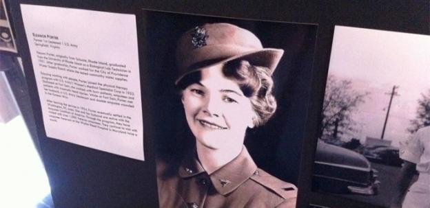 Eleanor Porter of Springfield, Virginia, a former first lieutenant in the U.S. Army.