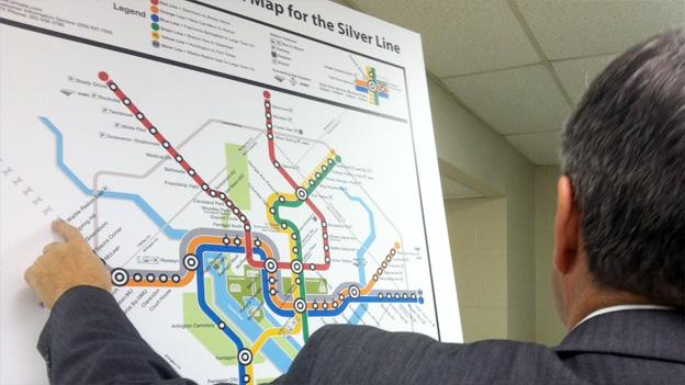 Metro Director of Intermodal Planning Jim Hughes explains service changes stemming from the Silver Line.