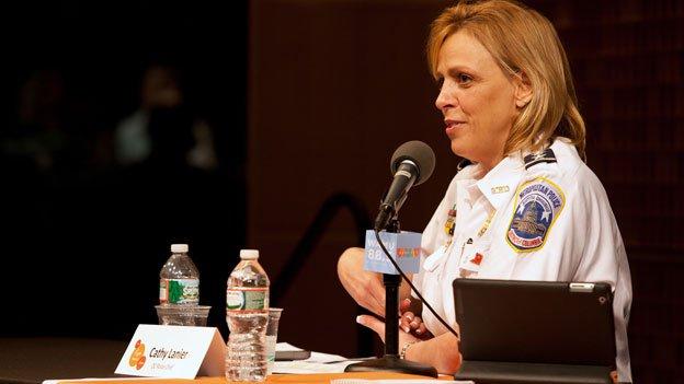 AtKojo In Your Community event on March 12, 2014, D.C. Police Chief Cathy Lanier spoke addressed marijuana decriminalization.
