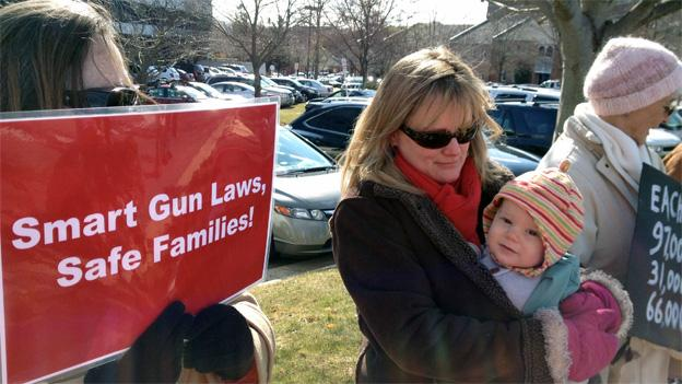 "The ladies of Moms Rising are calling for ""common sense"" changes to gun laws."