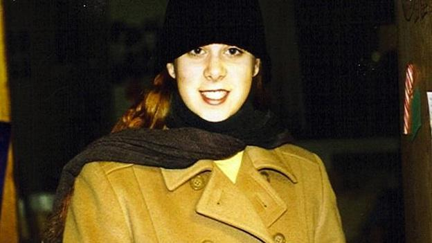 Sarah Metzger at the University of Michigan. She was pursuing a double major in English and Theater, after graduating from Bethesda-Chevy Chase High School.
