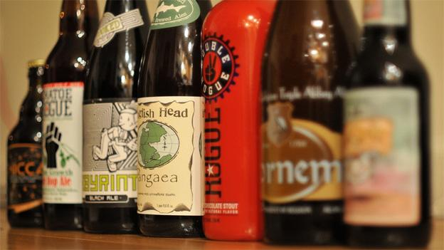 Craft beer is becoming big business in the United States, taking up about 6 percent of the overall market.