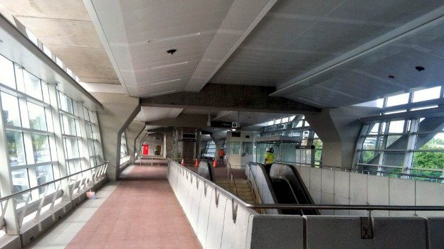The McLean Metro station on the Silver Line will likely remain empty for the next several months.