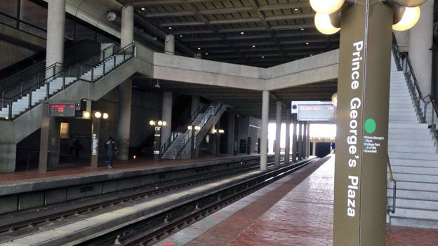 Prince George's Plaza has been identified as one of the underutilized Metro stations.