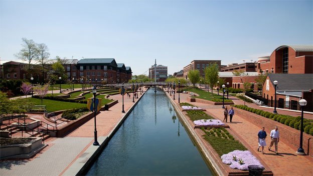 Downtown Frederick, Md., is a beautiful place to take a walk.