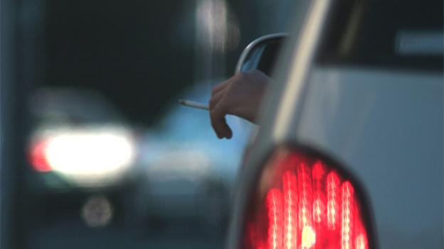 Smokers with kids in the car will have to wait, if the Maryland House also approves this legislation.