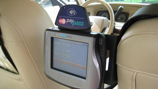 Drivers will be able to select from a list of vendors who provide credit card services in taxicabs.